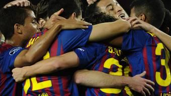 Für den FC Barcelona gab es einmal mehr viel Grund zum Jubeln