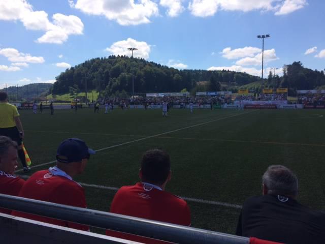 Cup: FC Gränichen - Sion (© Radio Argovia)