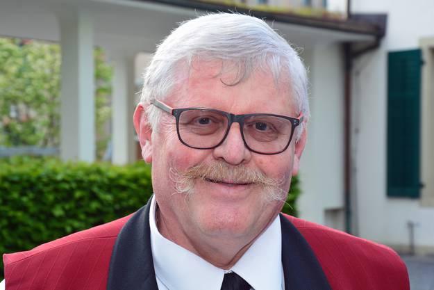 Ehrenpräsident Moritz Hunziker.