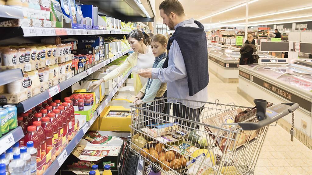 Die Inflation in der Schweiz ist im Januar etwas gestiegen. (Archiv)