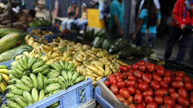 Ein Markt in Venezuela (Symbolbild)