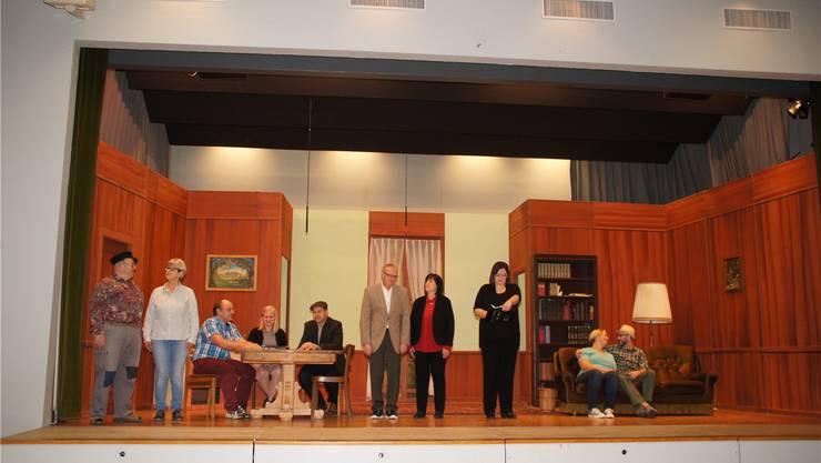 Die Akteure der Dorfbühne Härkingen sorgen auch dieses Jahr für beste Theaterkost.