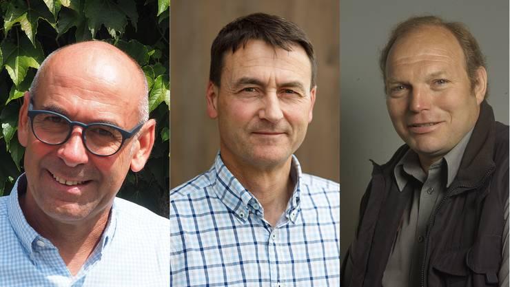 Stefan Keller, Beat Späti und Fritz Lehmann gehen in den zweiten Wahlgang.
