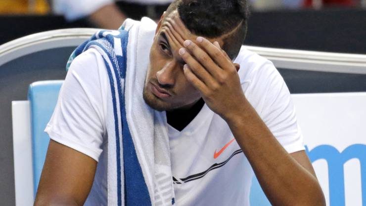 Zeigte am Australian Open wieder einmal einen fragwürdigen Auftritt: Nick Kyrgios