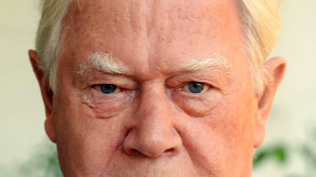 Genau an seinem 85. Geburtstag gestorben: Nationalsozialismus-Historiker Hans Mommsen (in einer Aufnahme vom Oktober 2005).