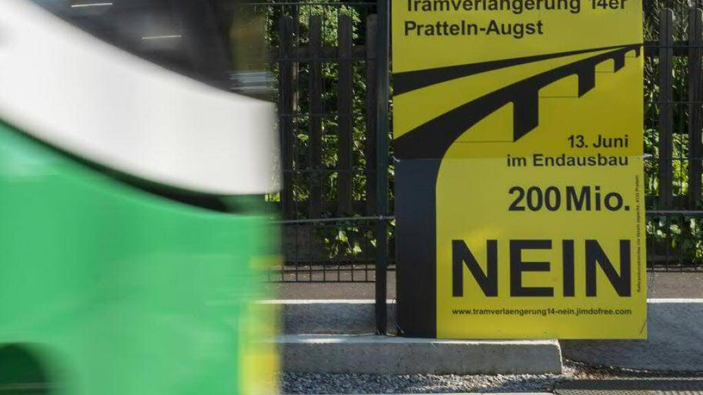 Baselbieter Souverän will kein Tram für «Salina Raurica»