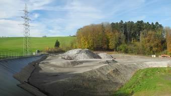 Der GAOF gibt eine Machbarkeitsstudie für die Erweiterung der Deponie Seckenberg in Auftrag.