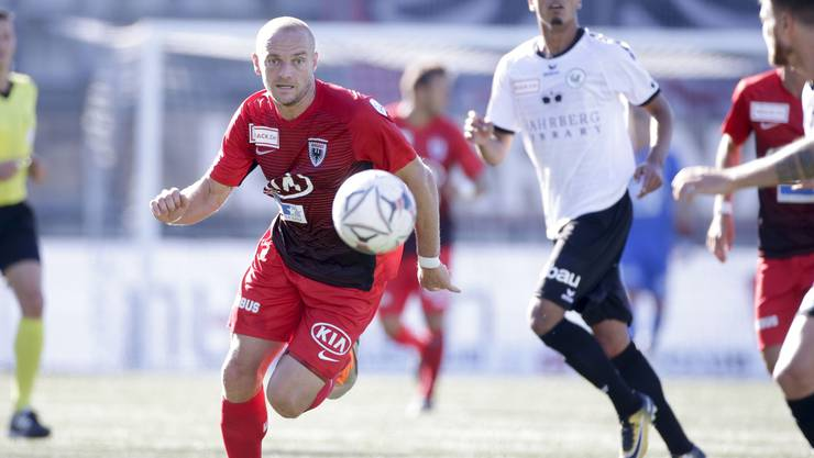 Marco Schneuwly traf gegen Solothurn gleich drei Mal