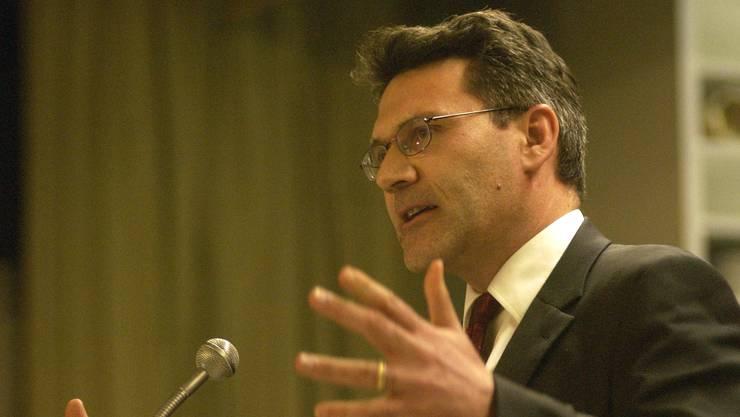 Pirmin Schwander, SVP-Nationalrat aus dem Kanton Schwyz, war zu Gast an einem Podium zur Kesb in Boswil. (Archivbild)