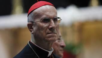 Bezieht eine Luxuswohnung: Kardinal Tarcisio Bertone (Archiv)