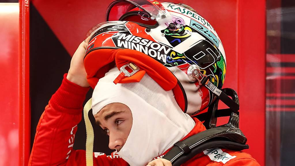 Charles Leclerc verlängerte seinen Vertrag mit Ferrari vorzeitig bis 2024