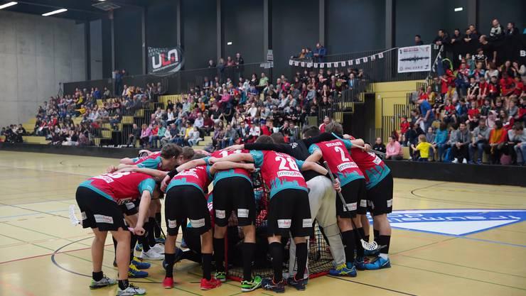 Das Herrenteam spielte am Samstag vor 600 begeisterten Zuschauern in der Rankhofhalle.