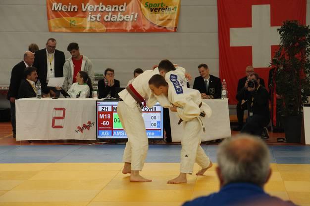 Auch Cyrill Marcarini konnte die Silbermedaille des vergangenen Jahres nicht verteidigen.