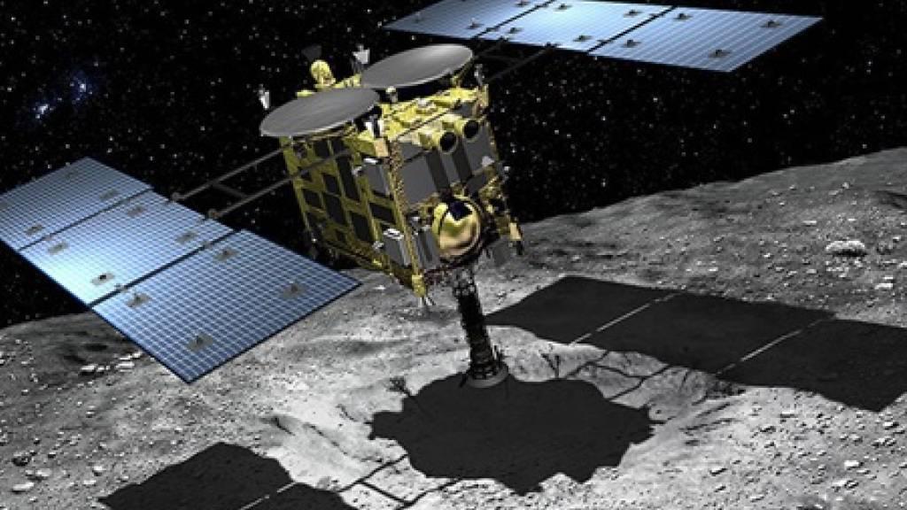 Japanische Sonde Hayabusa2 vor spektakulärem Missionsende