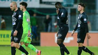 Die Aarauer müssen sich im letzten Spiel der Hinrunde mit einem Unentschieden zufrieden geben.