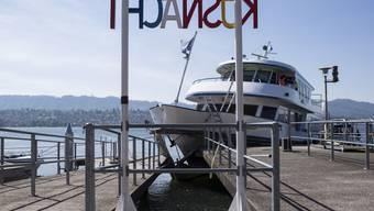Schiffunfall auf dem Zürichsee