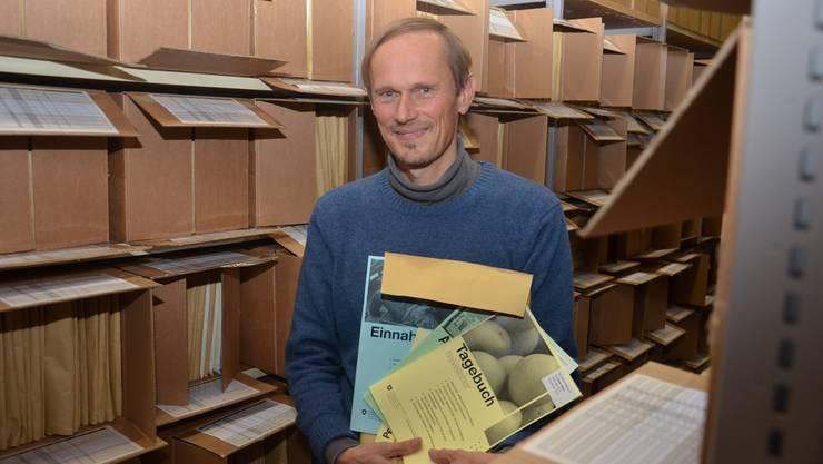 Ueli Oetliker ist Statistiker beim BFS und zuständig für die Haushaltsbudgeterhebung.