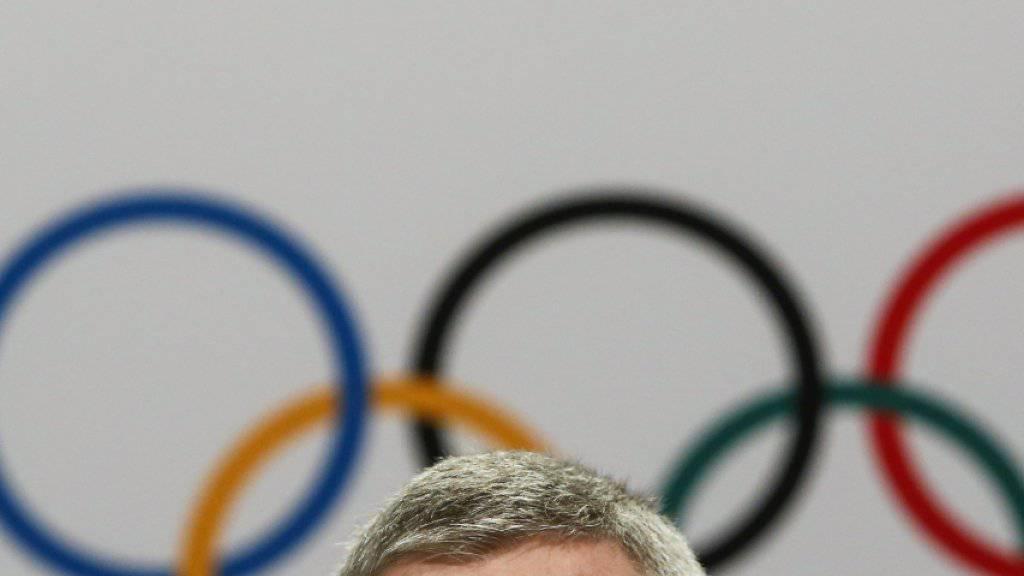 Die Anti-Doping-Agenturen fordern Russlands Ausschluss von Olympia 2018 (im Bild IOC-Präsident Thomas Bach)