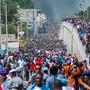 In Haiti sind am Donnerstag Tausende auf die Strasse gegangen, um gegen die dortige Regierung zu demonstrieren.
