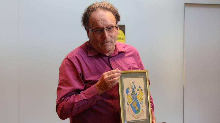 Pirmin Meier begab sich im Rickenbacher «Löwen» auf die Spuren der Region.