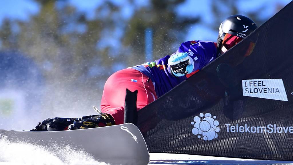 Hundertstel-Frust bei Schweizer Alpin-Snowboardern