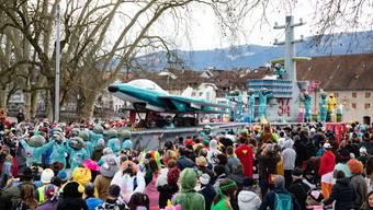 Die Wagen am Solothurner Fasnachtsumzug 2020