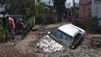 Strum «Manuel» sorgt im Nordwesten Mexicos für grosse Schäden.