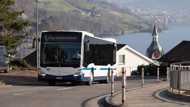 Die Zuger Busse werden elektrisch