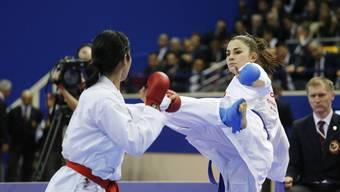 Elena Quirici (rechts) siegte in Paris. Seit Anfang Jahr zeigt sie konstante Leistungen auf hohem Niveau.