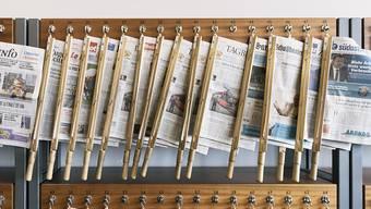 Der Bundesrat hat ein Paket zur Medienförderung verabschiedet. Nun entscheidet das Parlament, wie viele Staatsgelder künftig an Presse, Radio, TV und Onlinemedien fliessen sollen. (Themenbild)