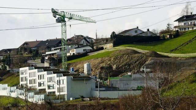Die KOF-Ökonomen sehen die Situation im Bausektor unverändert (Symbolbild)