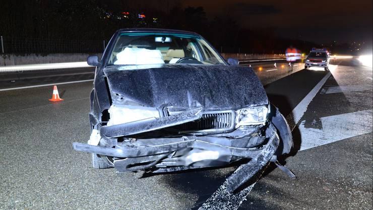 Der Lenker des Wagens hatte wohl ein medizinisches Problem.