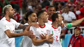 WM 2018: Schweiz - Serbien, die Bilder zum 2. Gruppenspiel