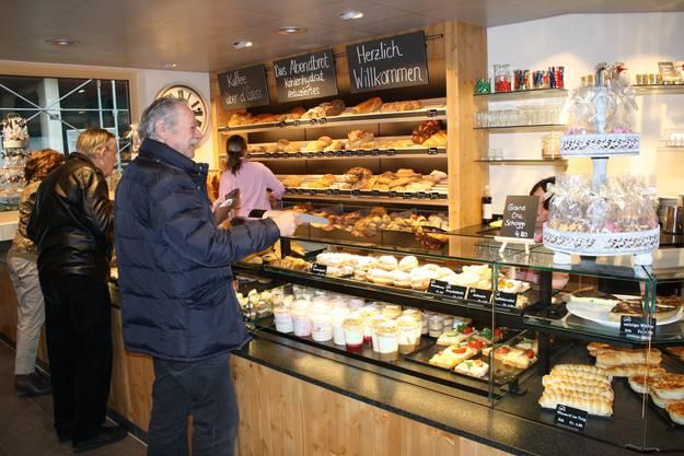 Das Angebot der Bäckerei stellt die Kunden zufrieden