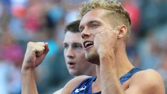 Der neue Zehnkampf-Weltrekordhalter: Kévin Mayer