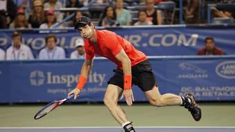 Andy Murray gewann seine erste Partie in Washington nach einem harten Kampf