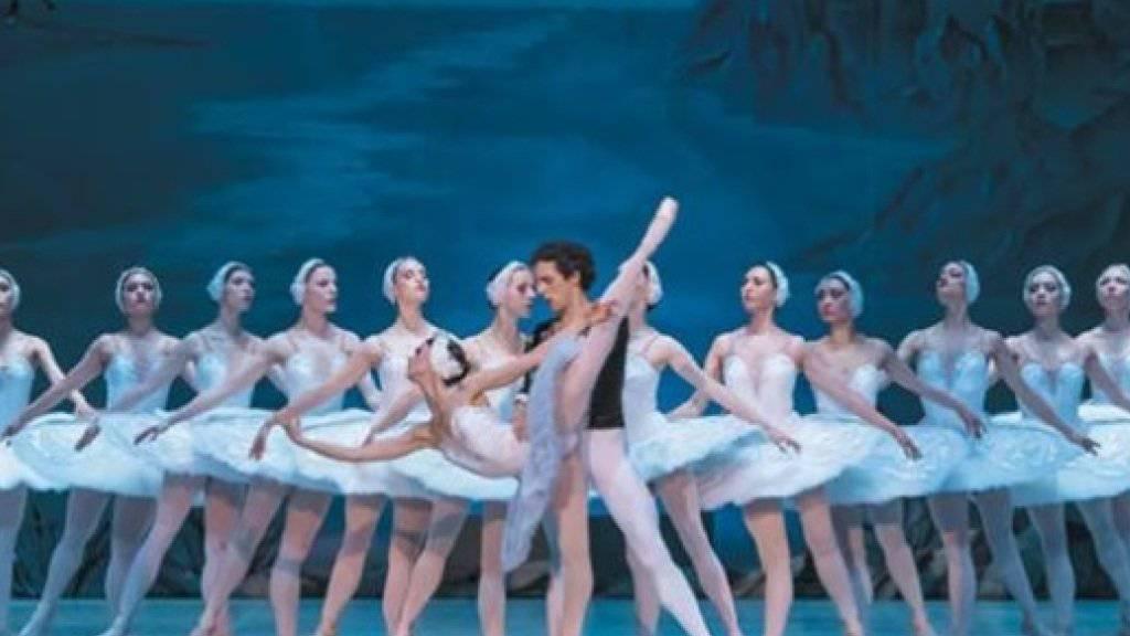 """Für manche ist es Kitsch, anderen wärmt klassisches russisches Ballett traditionell im Winter die Herzen: Auch dieses Jahr tourt das Staatliche Russische Ballett Moskau mit """"Nussknacker"""" und """"Schwanensee"""" durch Deutschland und die Schweiz. (zVg)"""