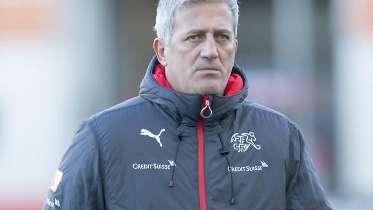 Nationalcoach Vladimir Petkovic reist Ende März mit seiner Equipe für ein Testspiel nach Dublin