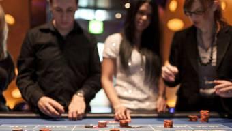 Gäste im Grand Casino Baden. (Symbolbild)