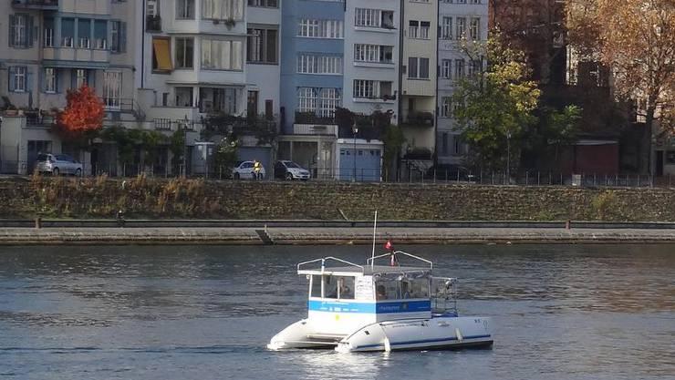 Waren Sie schon mit einem Solarboot auf dem Rhein?