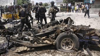Nach einem Anschlag in Somalia. (Archivbild)