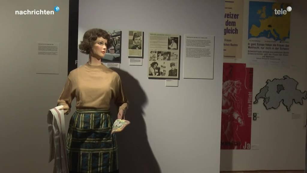 Ausstellung zu 50 Jahre Frauenstimmrecht