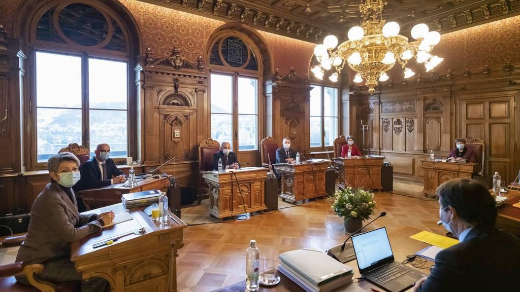 Verdoppelung der Härtefallhilfe und Ausweitung der Teststrategie: Das hat der Bundesrat heute beschlossen