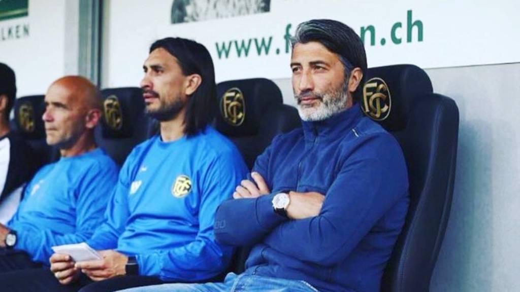 Murat Yakin wieder zurück beim FC Schaffhausen
