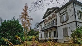 Die Villa Malaga in Lenzburg.