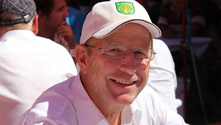 Regierungsrat Peter C. Beyeler