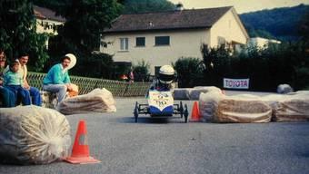 Seifenkistenrennen Klingnau anno dazumal
