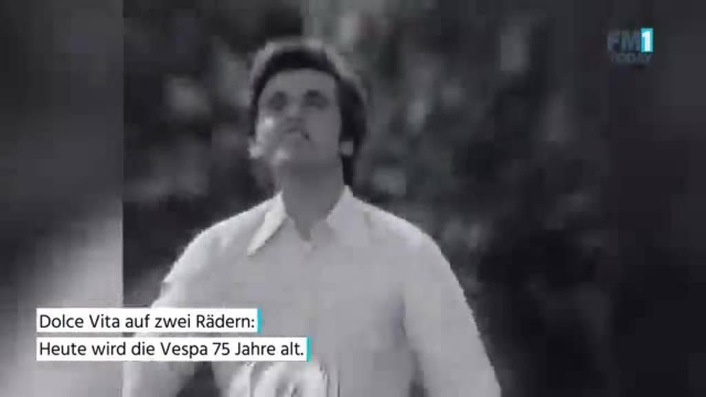 Die Vespa wird heute 75!