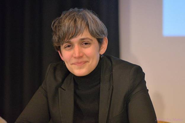 Rebekka Wyler, Co-Generalsektretärin der SP Schweiz.