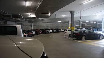 Die grosszügigen Parkierungsmöglichkeiten im Parkhaus Berntor finden immer mehr Fans.